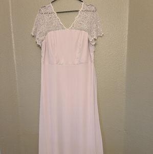 ASOS lace and sheer maxi dress NWT